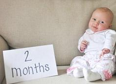 2-месячный малыш коротко о главном