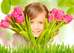 ребенку на 8 марта