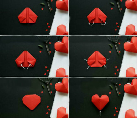 Делаем валентинки своими руками из бумаги для детей