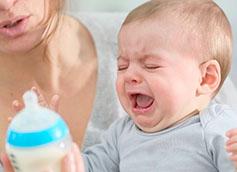 ребенку не нравится смесь