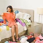 Как убраться, если очень много вещей