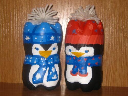 пингвинчики из бутылок
