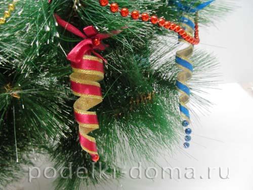 сосульки на елку