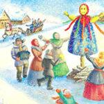 Стихи про масленицу короткие для детей