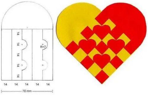 переплетенные сердца