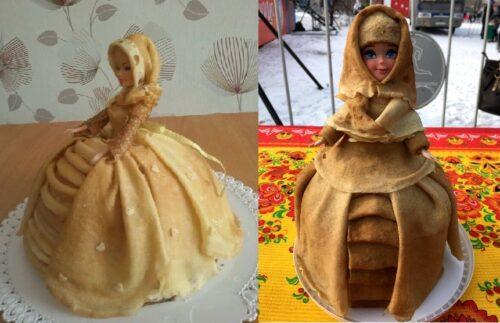 блинная кукла