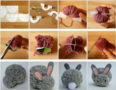 сделать кролика своими руками